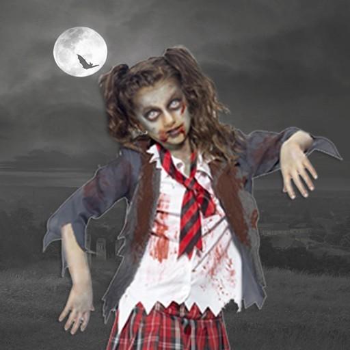 Disfraces de zombies para niña