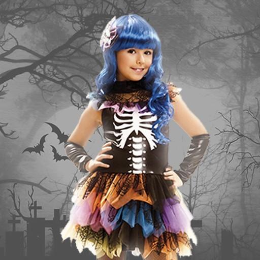 Disfraces de esqueleto para niña