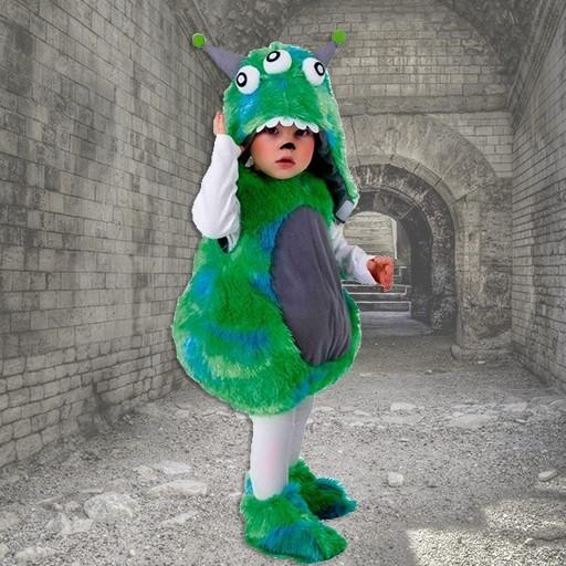 Disfraces de monstruos para bebé