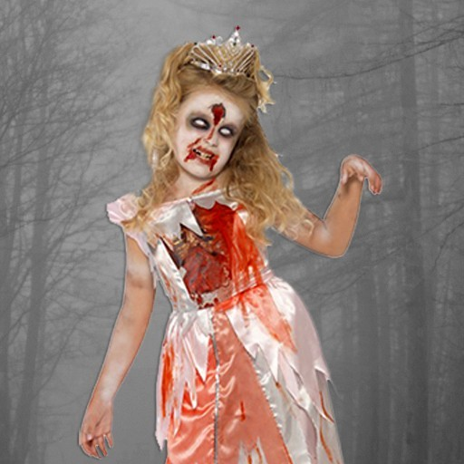 Disfraces sangrientos para niña
