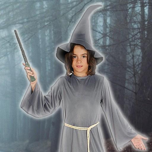 Disfraces de brujo y hechicero para niño