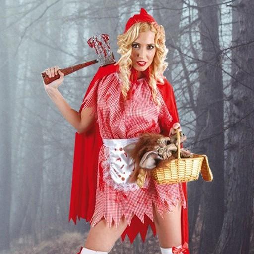 Disfraces Caperucita Roja Halloween para mujer