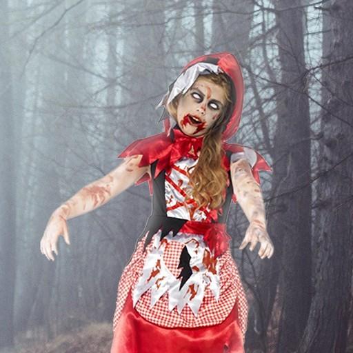 Disfraces Caperucita Roja Halloween para niña