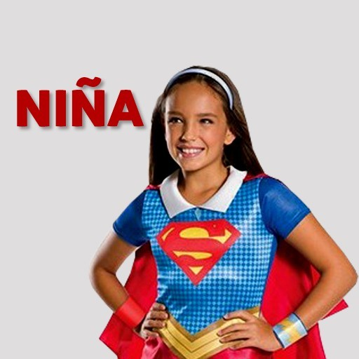 Disfraces de superhéroes para niña