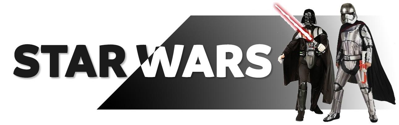 Disfraces de Star Wars para adulto y niño