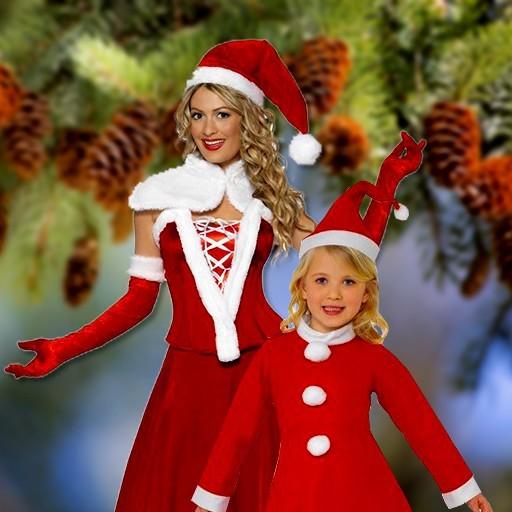 Disfraces de Mamá Noel