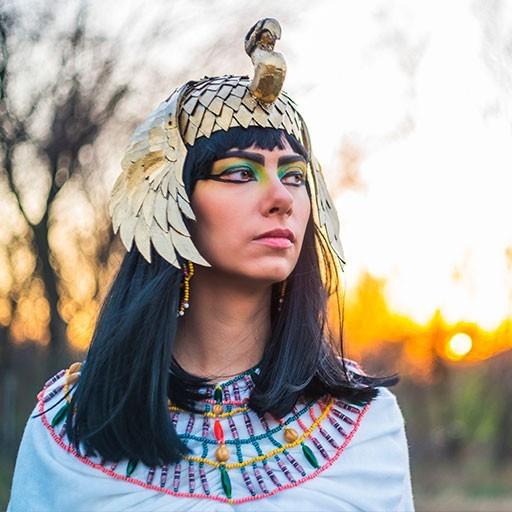 Disfraces de personajes históricos y civilizaciones antiguas