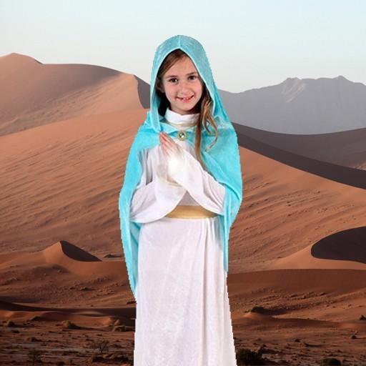 Disfraces de Virgen María