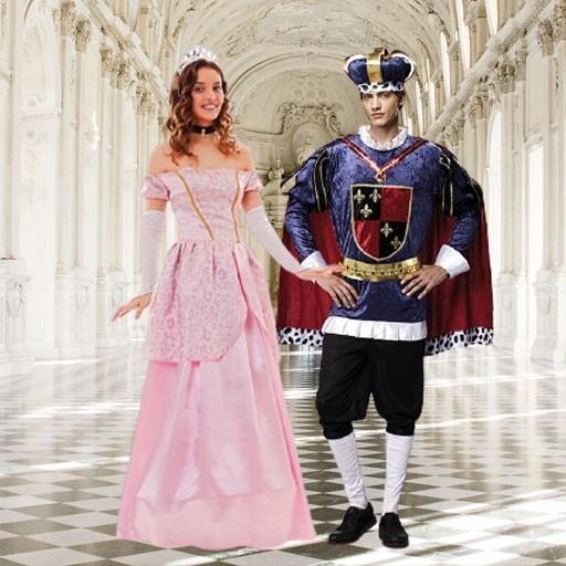 Disfraces de príncipes y princesas