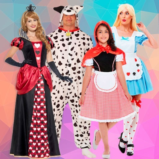 Disfraces personajes Disney