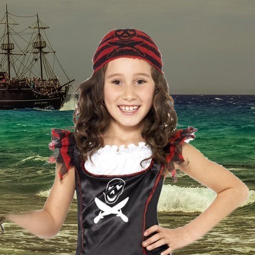 Disfraces de piratas para niña