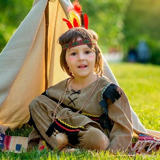 Disfraces del oeste: indios y vaqueros