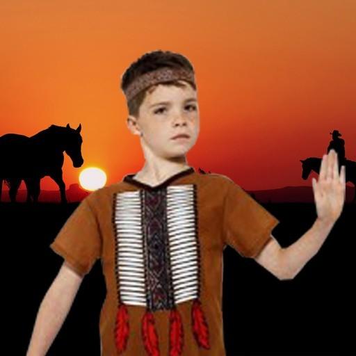 Disfraces de indios para niño