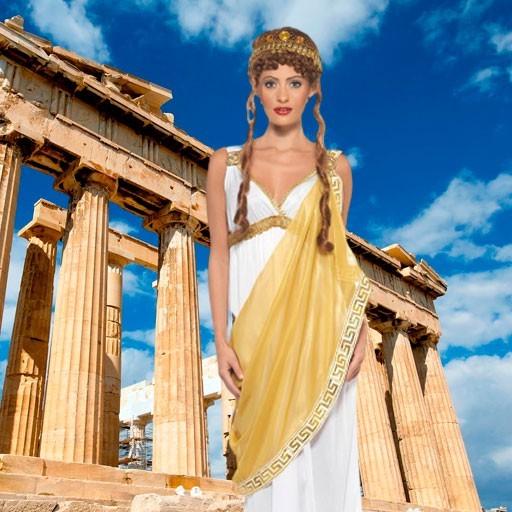 Disfraces de griegos para mujer