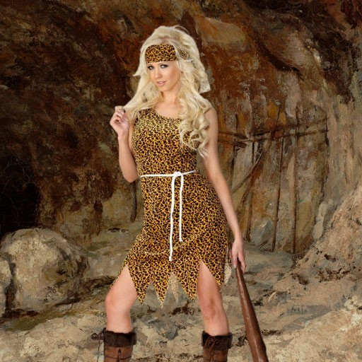Disfraces de trogloditas y cavernícolas para mujer
