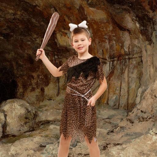 Disfraces de trogloditas y cavernícolas para niño