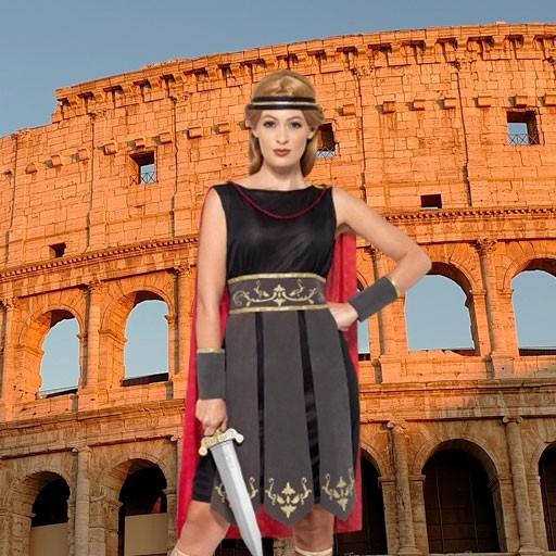 Disfraces de romanos para mujer