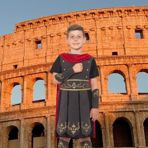 Disfraces de romanos para niño