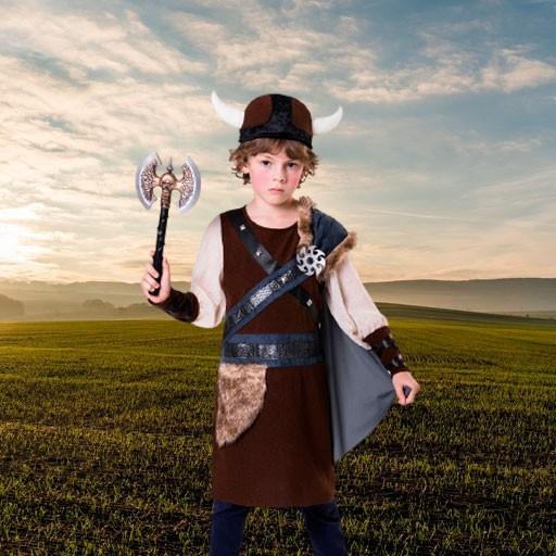 Disfraces de vikingos para niño