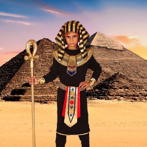 Disfraces de egipcios para niño