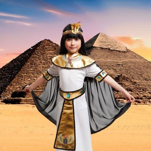 Disfraces de egipcios para niña