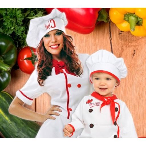 Disfraces de cocineros y chefs