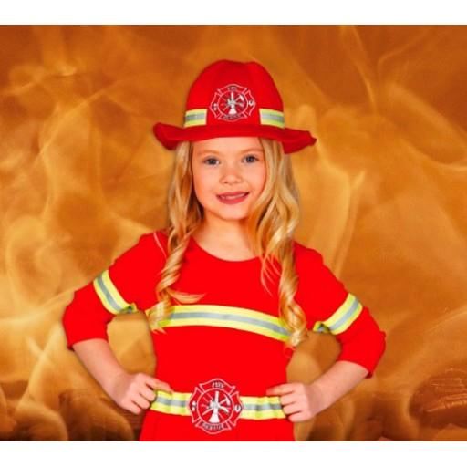 Disfraces de bomberos para niña