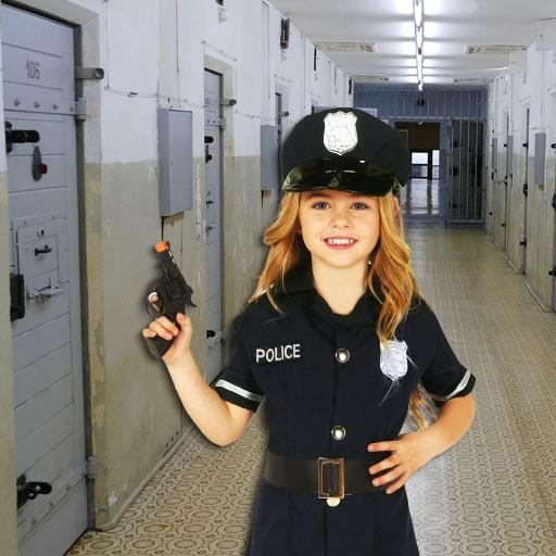 Disfraces de policías para niña