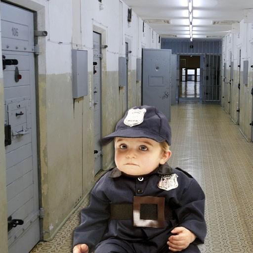 Disfraces de policías para bebé