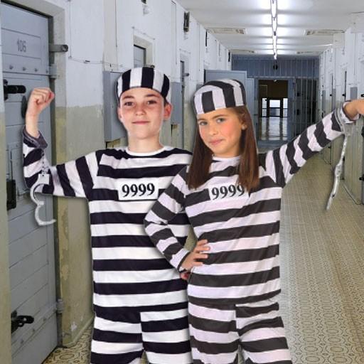Disfraces de presos para niño y niña