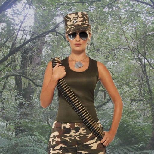 Disfraces de militares y soldados para mujer