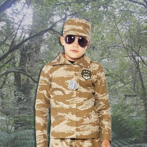 Disfraces de militares y soldados para niño