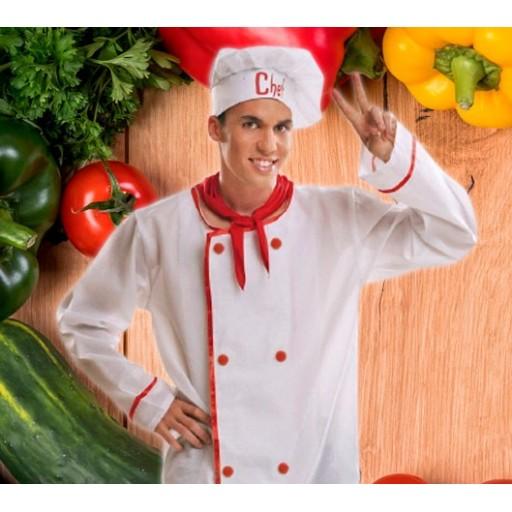 Disfraces de cocineros y chefs para hombre