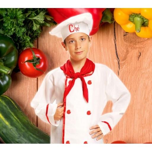 Disfraces de cocineros y chefs para niño