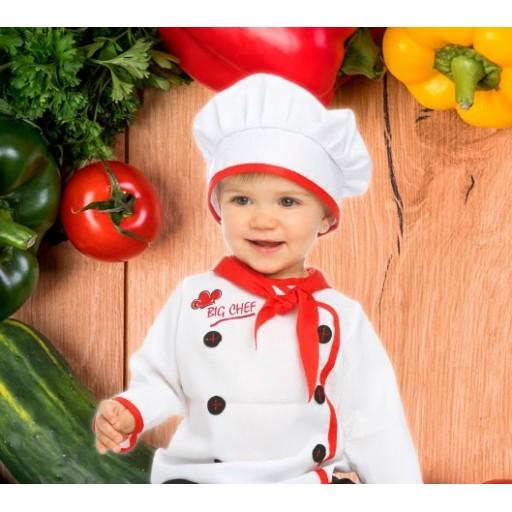 Disfraces de cocineros y chefs para bebé