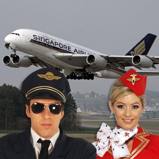 Accesorios pilotos, aviadores y azafatas