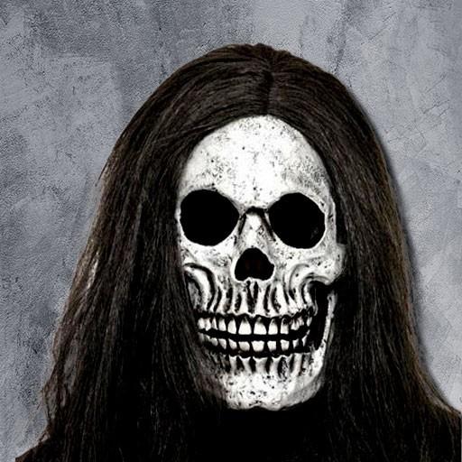 Máscaras de calavera y esqueleto