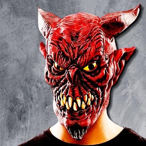 Máscaras de demonio y diablo