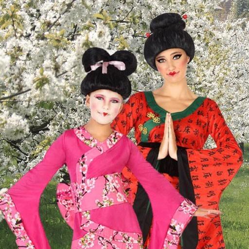 Disfraces de geishas