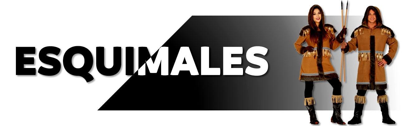 Disfraces de esquimales para hombre y mujer