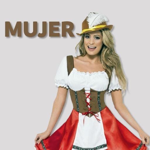 Disfraces de tiroleses / Oktoberfest para mujer