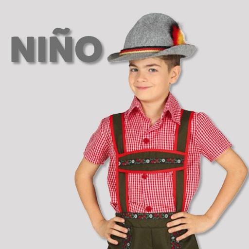 Disfraces de tiroleses para niño