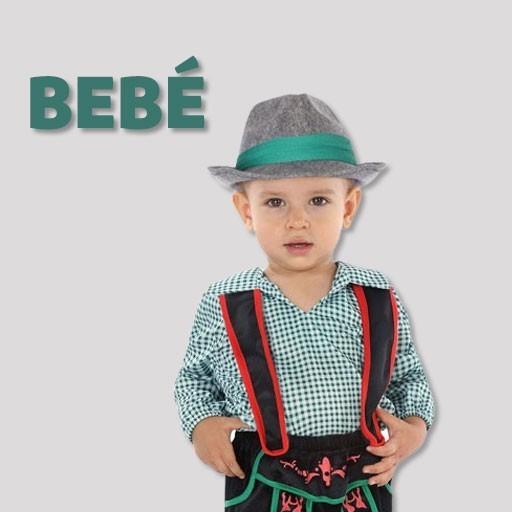Disfraces de tiroleses para bebé