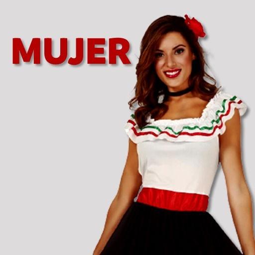 Disfraces de mexicanas para mujer