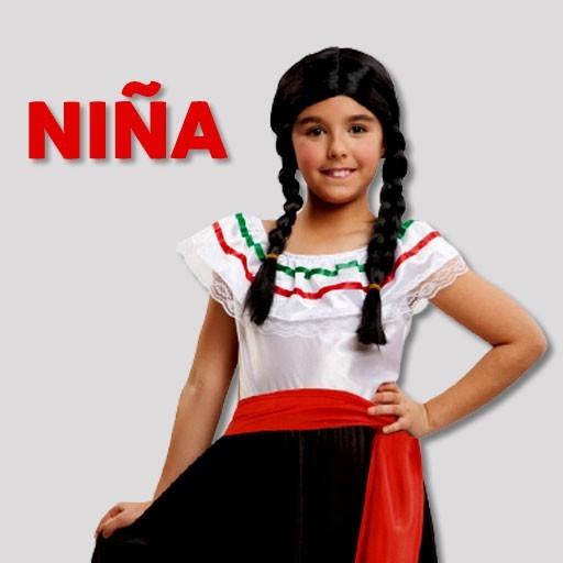 Disfraces de mexicanas para niña