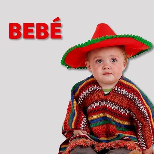 Disfraces de mexicanos para bebé