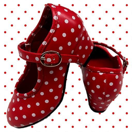 Zapatos de flamenca y sevillana