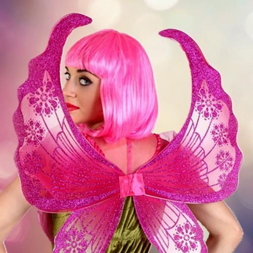 Antenas y alas para disfraz
